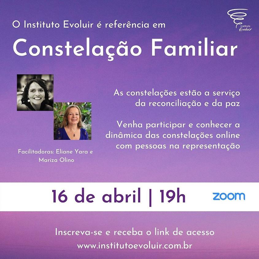 Constelação Familiar Online - 16 de abril - 19h
