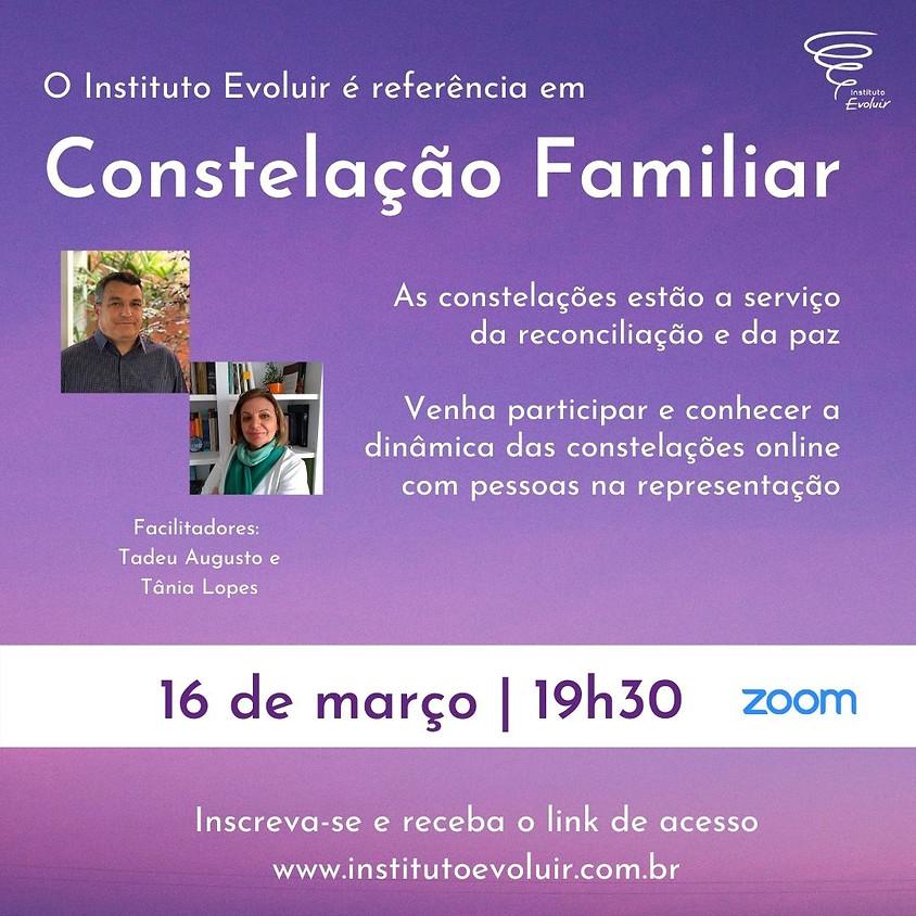 Constelação Familiar Online - 16 de março - 19h30