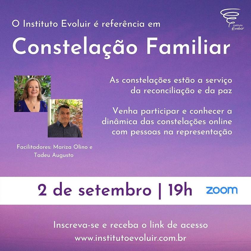 Constelação Familiar Online - 2 de setembro - 19h