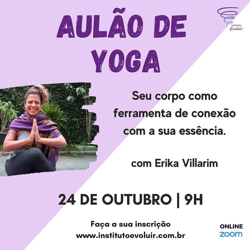 Aulão de Yoga - Praticar, sentir e ser