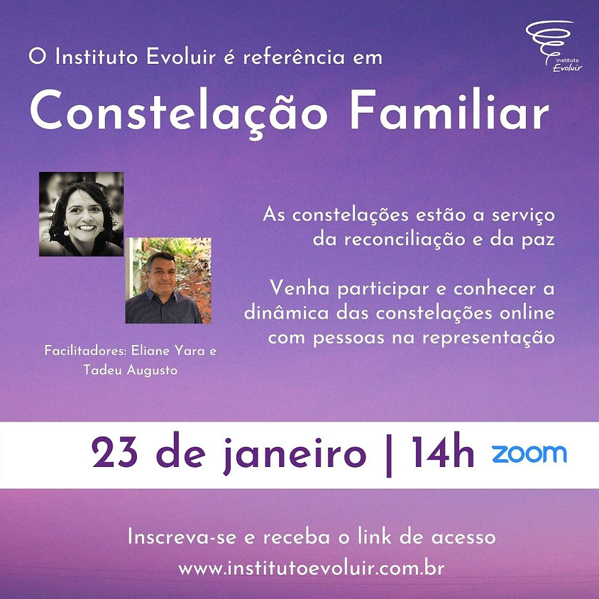 Constelação Familiar Online - 23 de janeiro - 14h