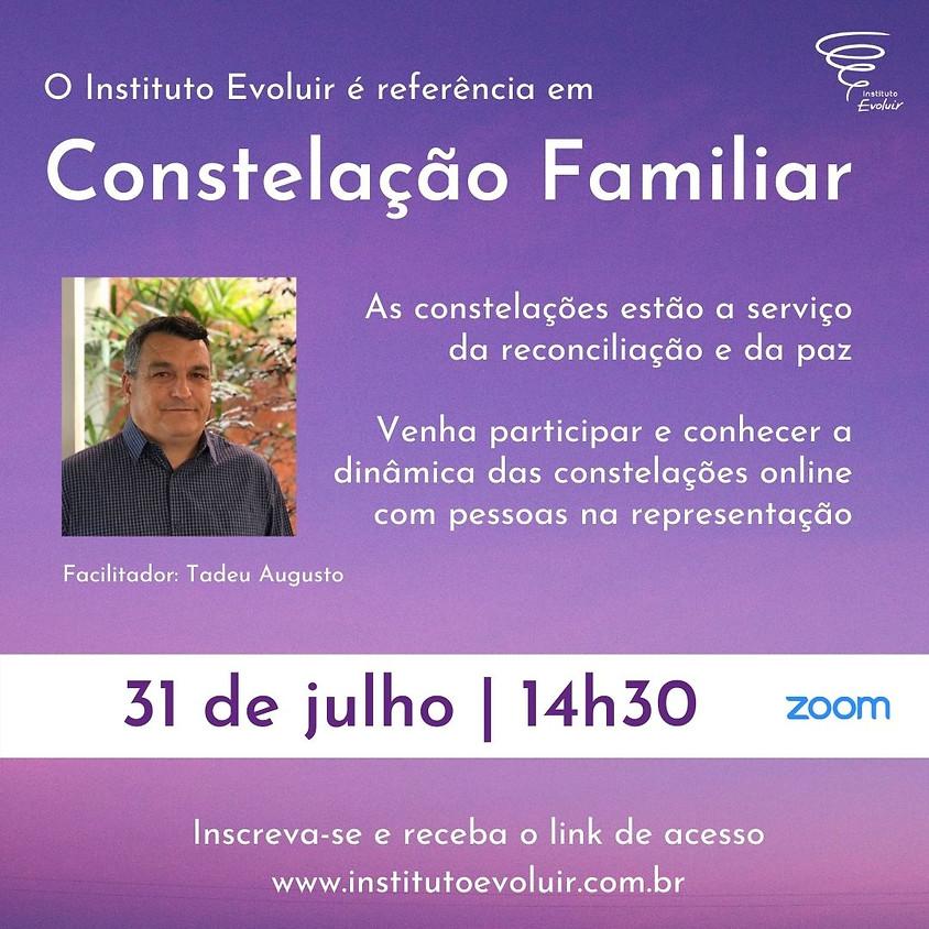 Constelação Familiar Online - 31 de julho - 14h30