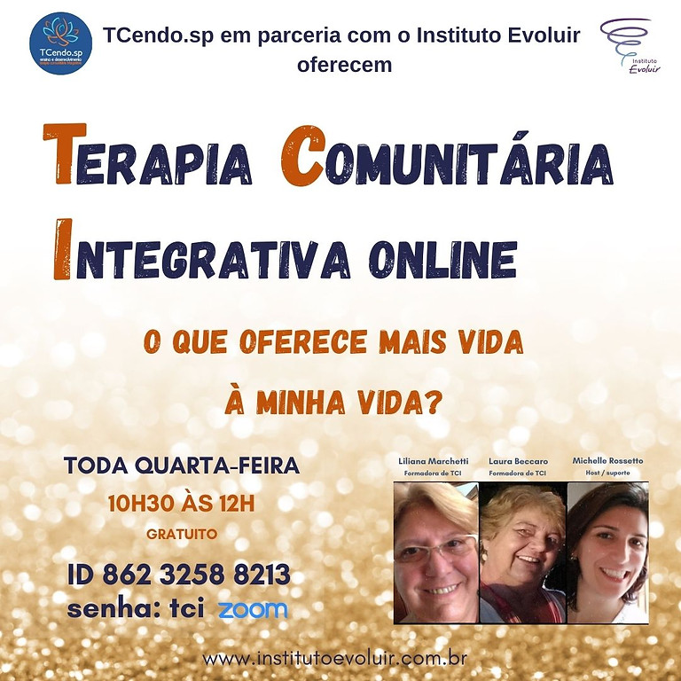 Terapia Comunitária Integrativa Online