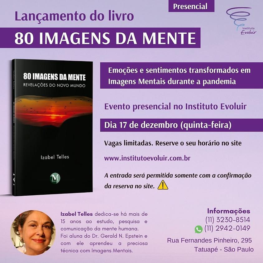 Lançamento do livro 80 Imagens da Mente