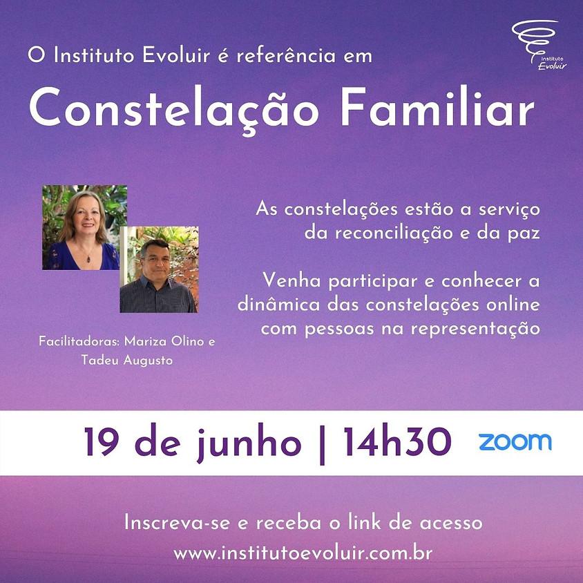 Constelação Familiar Online - 19 de junho - 14h30