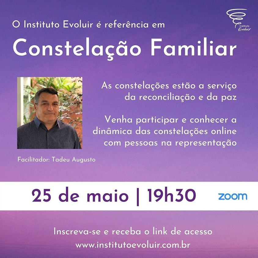 Constelação Familiar Online - 25 de maio - 19h30