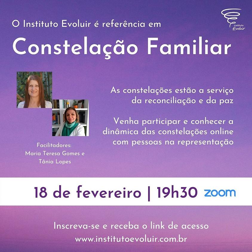 Constelação Familiar Online - 18 de fevereiro - 19h30