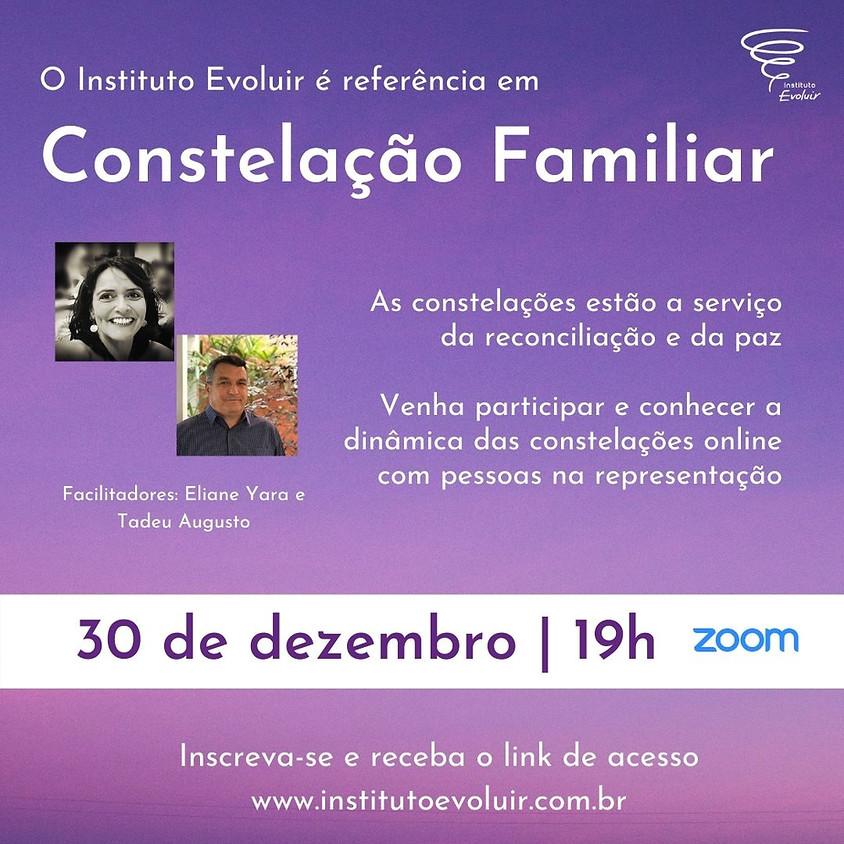 Constelação Familiar Online - 30 de dezembro - 19h