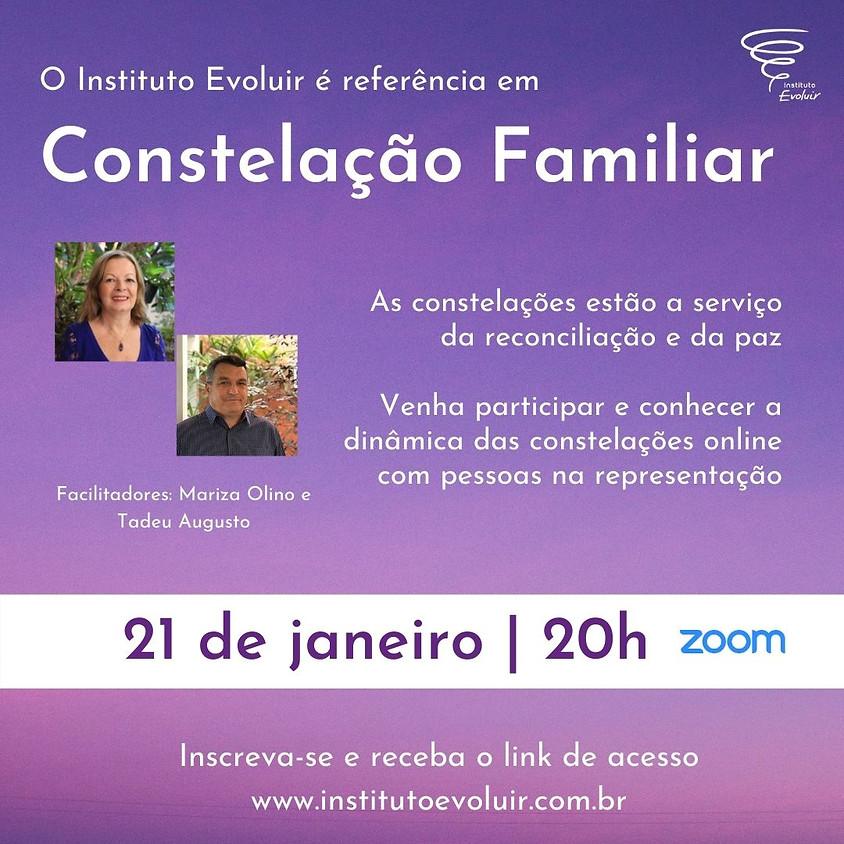 Constelação Familiar Online - 21 de janeiro - 20h