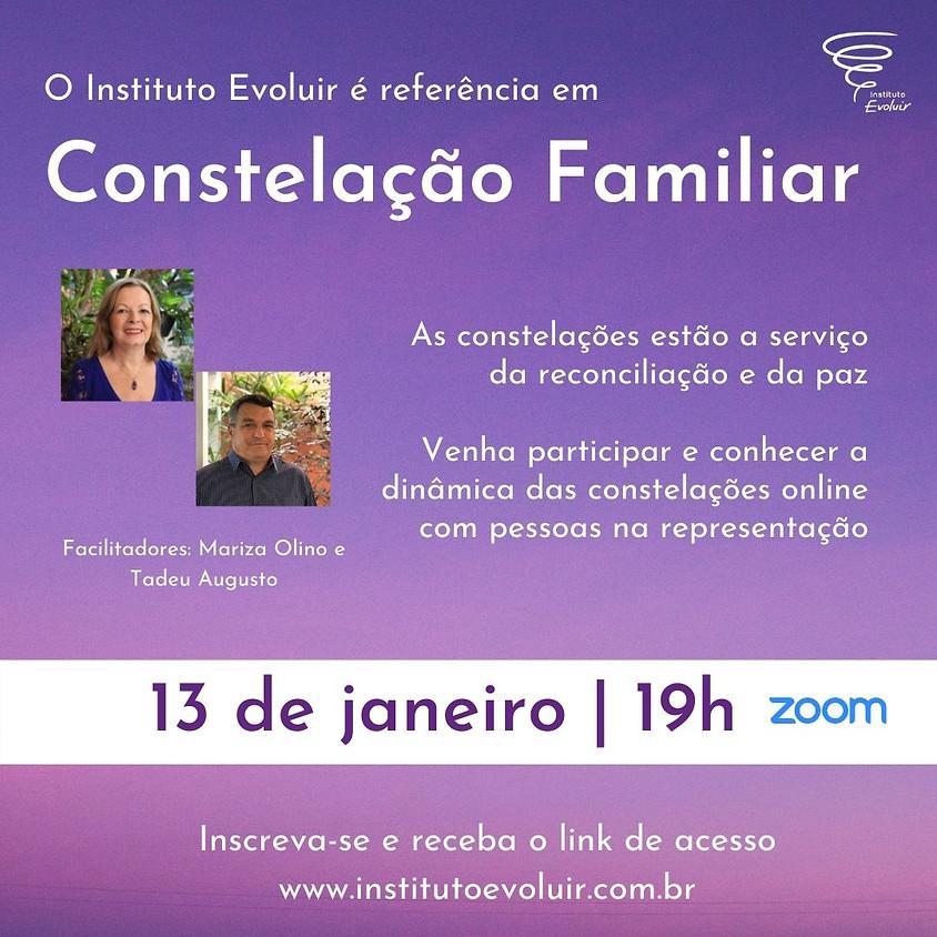 Constelação Familiar Online - 13 de janeiro - 19h