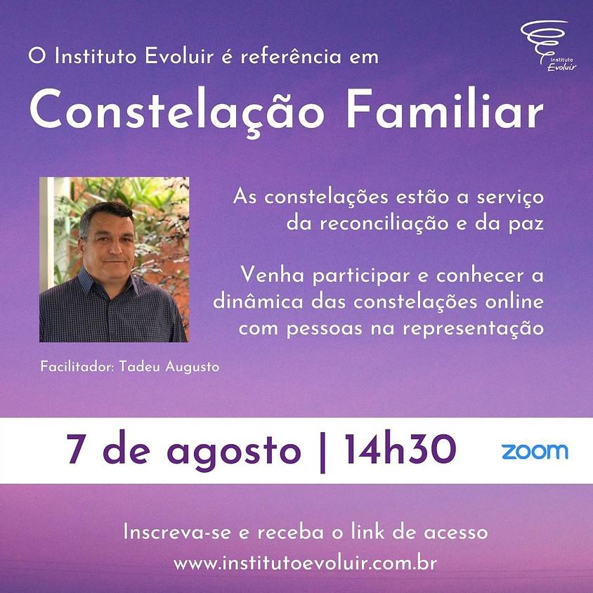 Constelação Familiar Online - 7 de agosto - 14h30