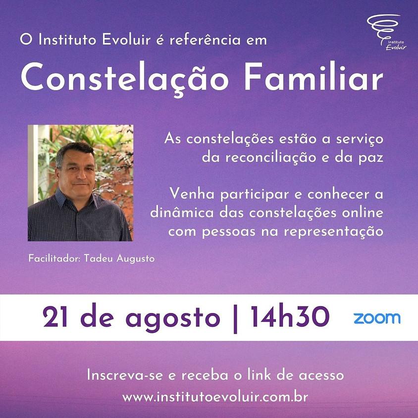 Constelação Familiar Online - 21 de agosto - 14h30