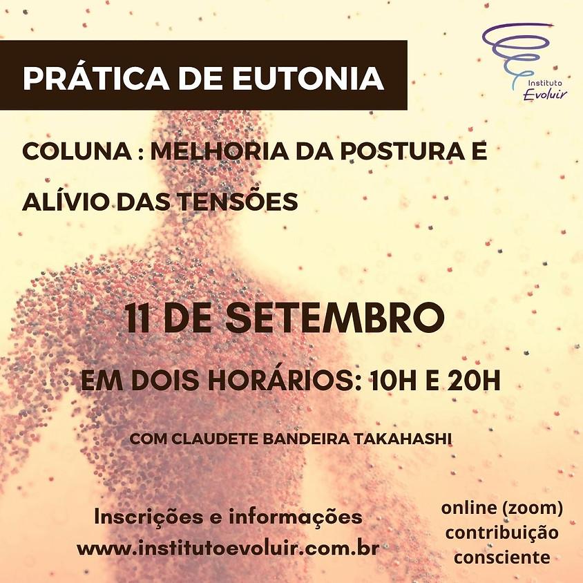 Prática de Eutonia - 11 de setembro às 20h