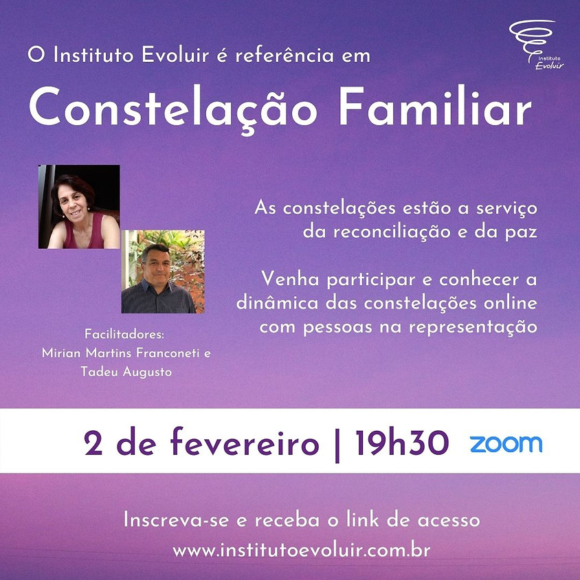 Constelação Familiar Online - 2 de fevereiro - 19h30
