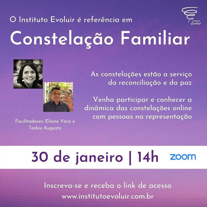 Constelação Familiar Online - 30 de janeiro - 14h