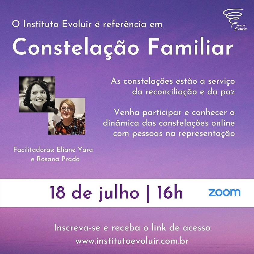 Constelação Familiar Online - 18 de julho - 16h