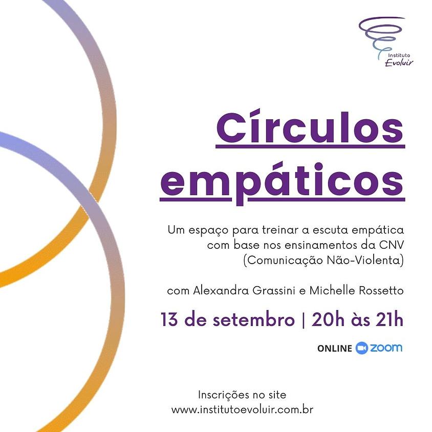 Círculos empáticos - 13 de setembro