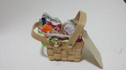 Wooden Basket favor box