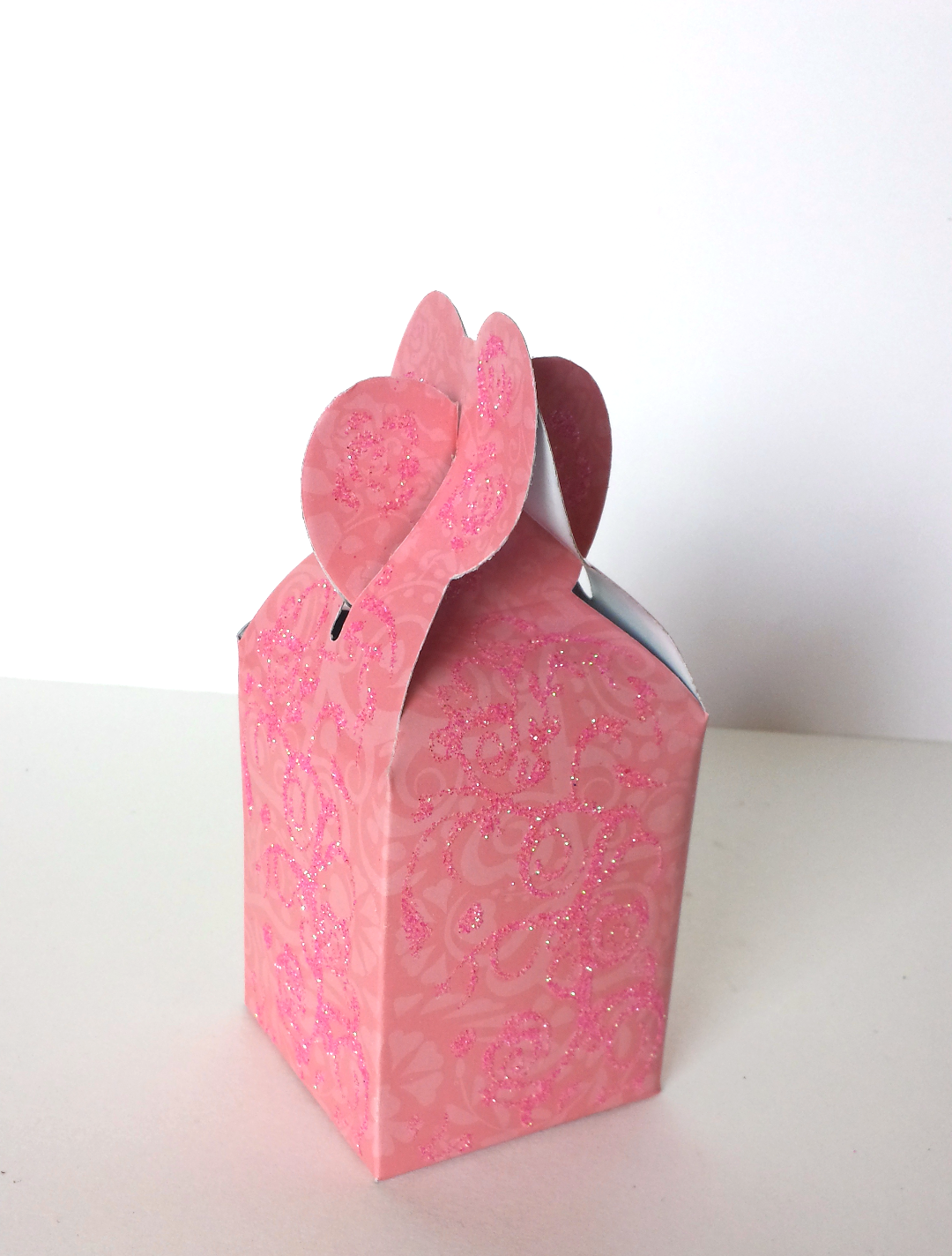 Pink Party Favor Box