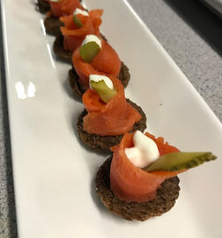 Smoked Salmon Hors D'Oeuvre