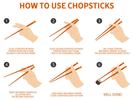 Japan - Learn How to Use Chopsticks!