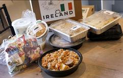 Ireland Travel Dinner Box