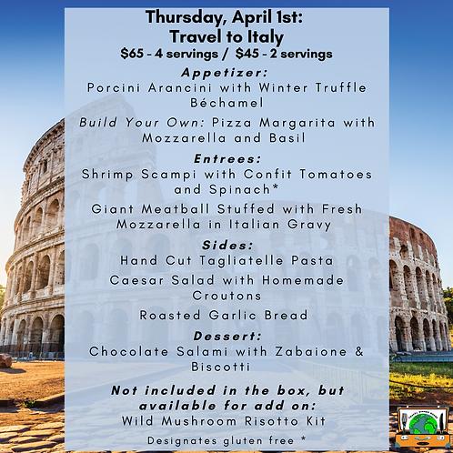 Italy- Week 6: 2-Serving