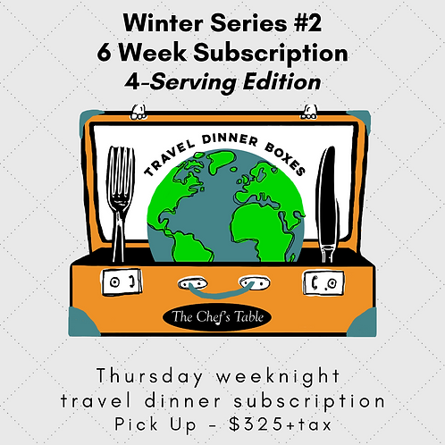 6 Week Pick Up Subscription: 4-Serving
