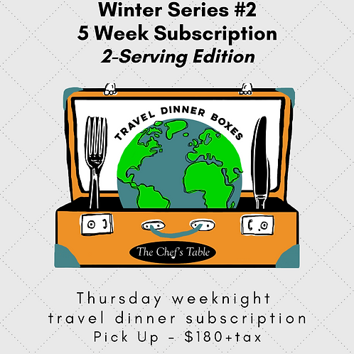 5 Week Pick Up Subscription: 2-Serving