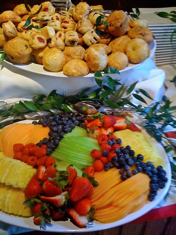 Fruit and Dessert