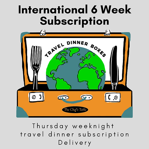 6 Week: Delivery Subscription