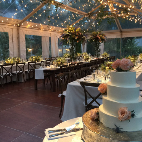 Cape Cod Wedding, Clear Top Tent, Cape Cod Catering