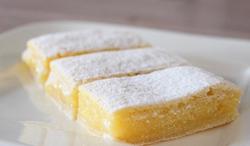 Chef Maria's Homemade Lemon Squares