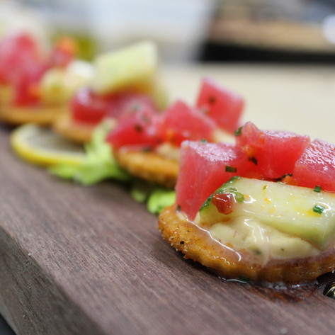 Chilled Summer Hors D'oeuvre