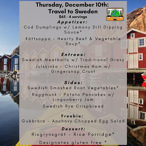 Sweden - Week 5