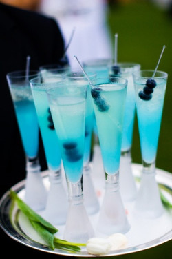 """""""Something Blue"""" Cocktail"""
