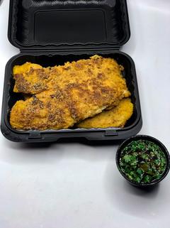 Main: Cornmeal Crusted Catfish - Tennessee