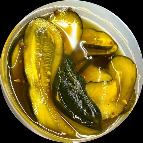 House-Made B&B Pickles
