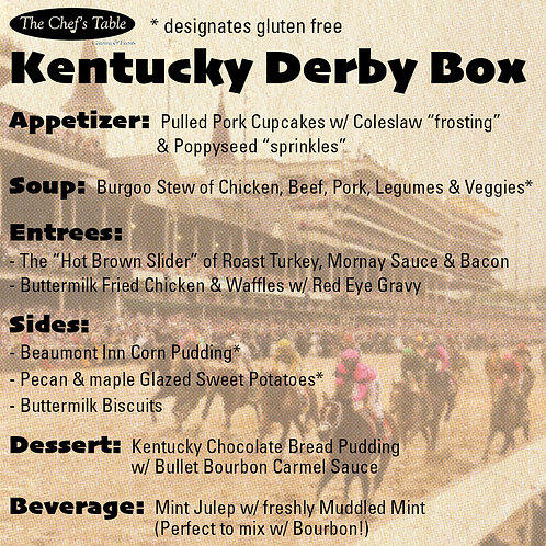 Kentucky Derby Box for 6