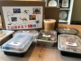 Turkey Travel Dinner Box