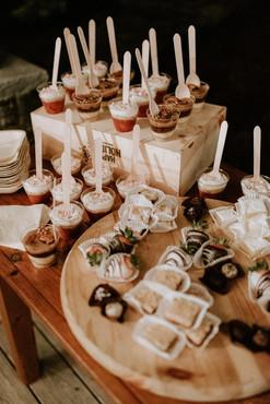Dessert Shots & Minis Display