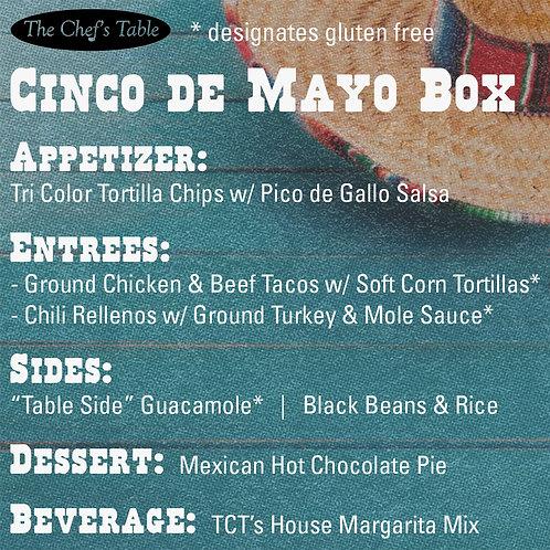 Cinco De Mayo Box for 4