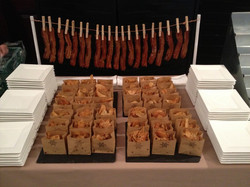 Bacon and Chips Display