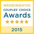 Wedding Wire 2015 award