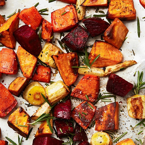 Seasonal Roasted Vegetables w/ Olive Oil & Fresh Thyme