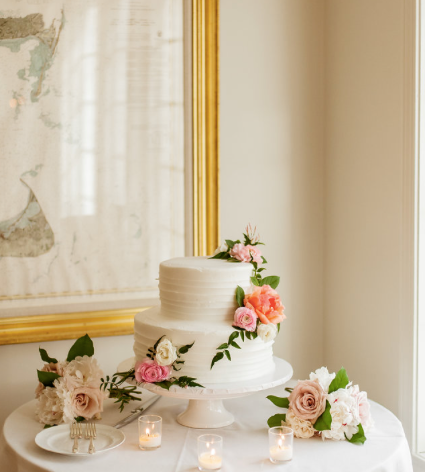 Wedding Cake, Floral Cake, Minimalist Wedding, Flowery Wedding, Fairy Wedding