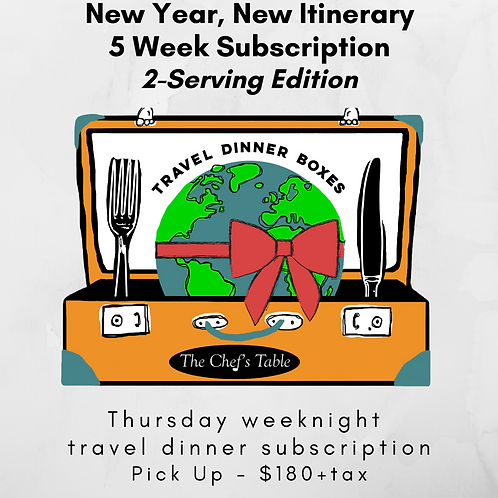 2 Serving: 5-Week New Year Subscription Pick Up