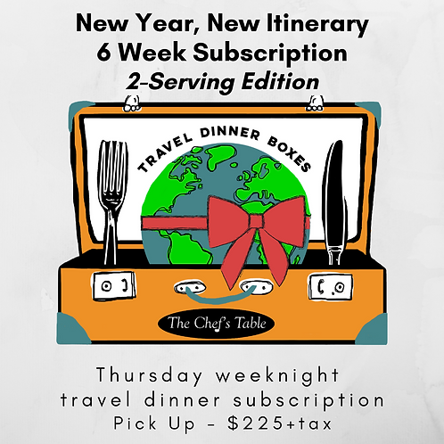 2 Serving: 6-Week New Year Subscription Pick Up
