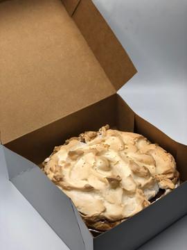 Chocolate Pie with Meringue - Illinois