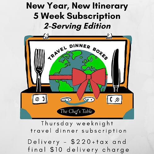 2 Serving: 5-Week New Year Subscription Delivery